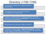 directory 1795 1799