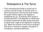 robespierre the terror
