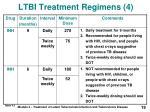 ltbi treatment regimens 4