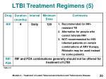 ltbi treatment regimens 5