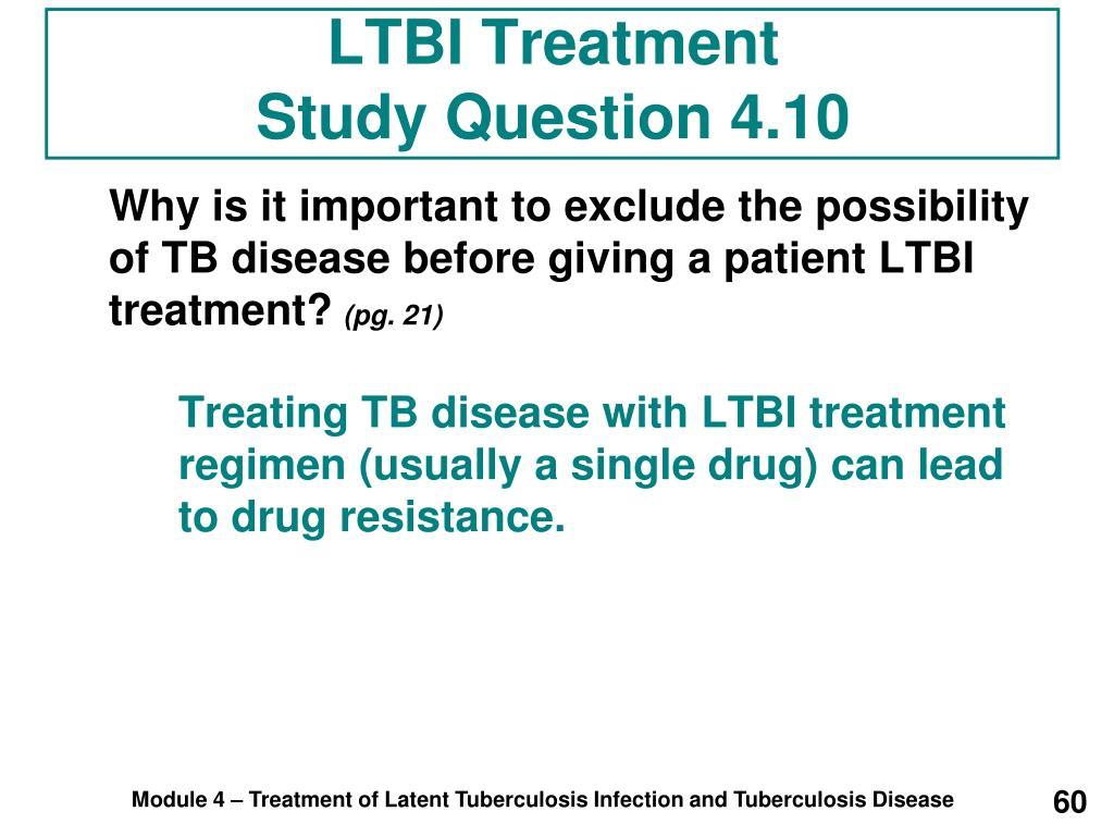 LTBI Treatment