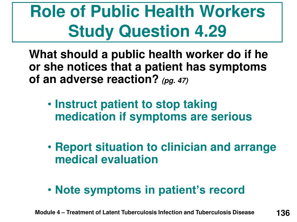 Role of Public Health Workers