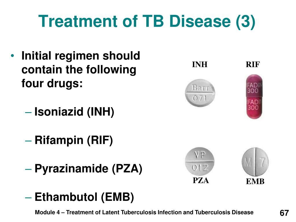 Treatment of TB Disease (3)