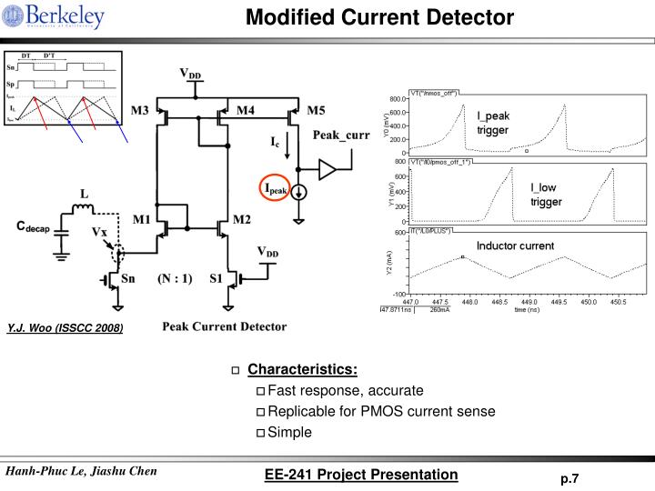 Modified Current Detector