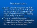 treatment cont 2