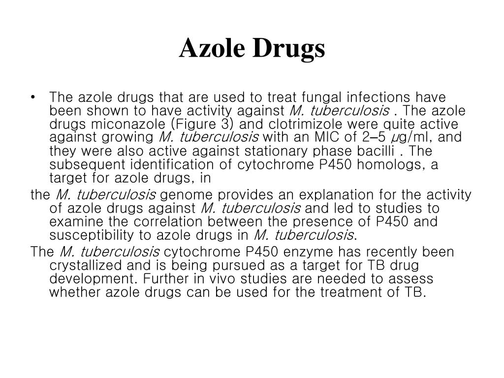 Azole Drugs