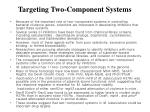targeting two component systems
