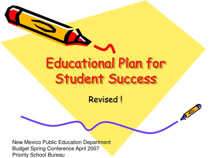 educational plan for student success n.