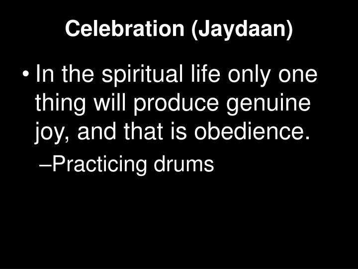 Celebration (Jaydaan)