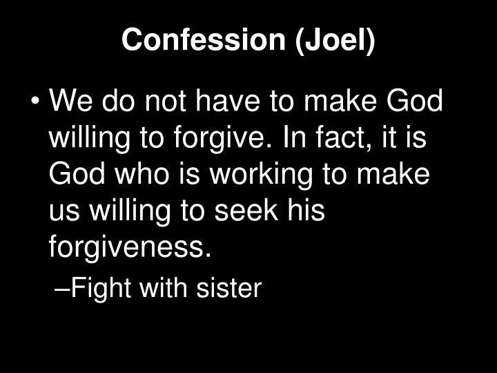 Confession (Joel)