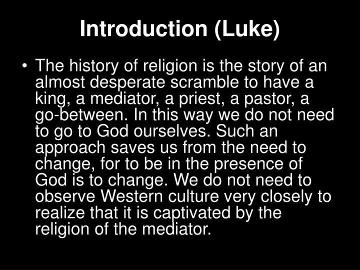 Introduction luke1