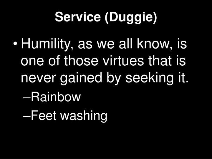Service (Duggie)