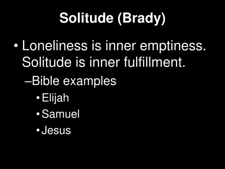 Solitude (Brady)