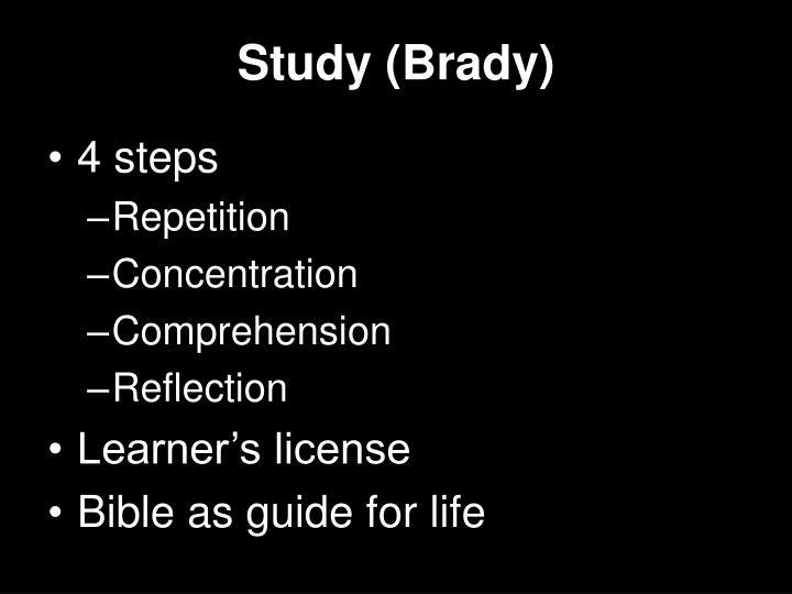 Study (Brady)