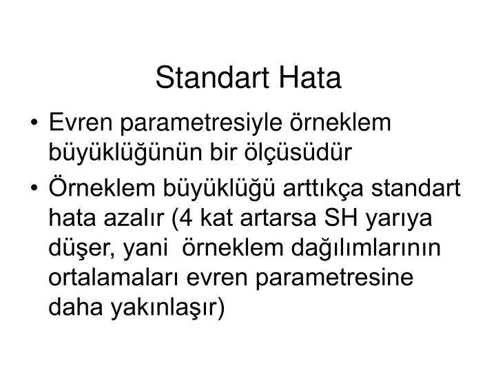 Standart Hata