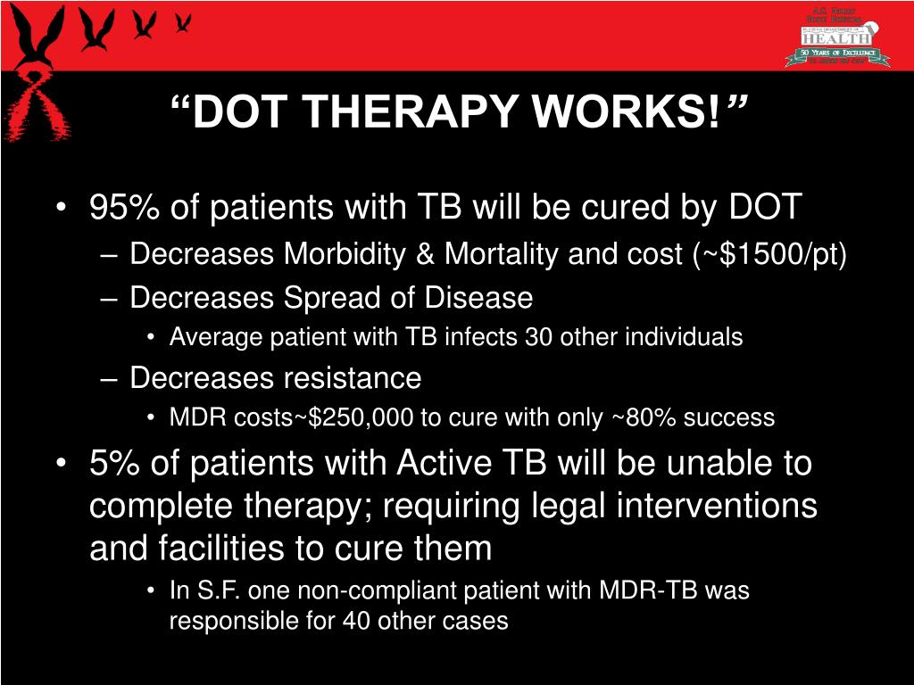"""""""DOT THERAPY WORKS!"""