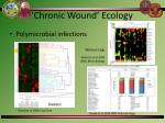 chronic wound ecology