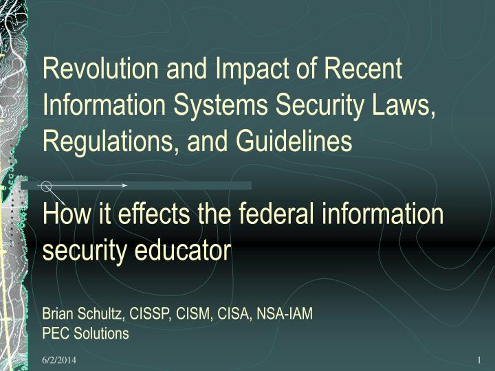 PPT - Explosive impact of Laws, Regulations and Guidelines