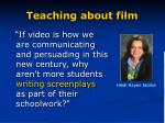 teaching about film5