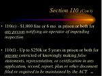 section 110 con t3