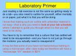 laboratory primer