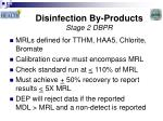 disinfection by products stage 2 dbpr