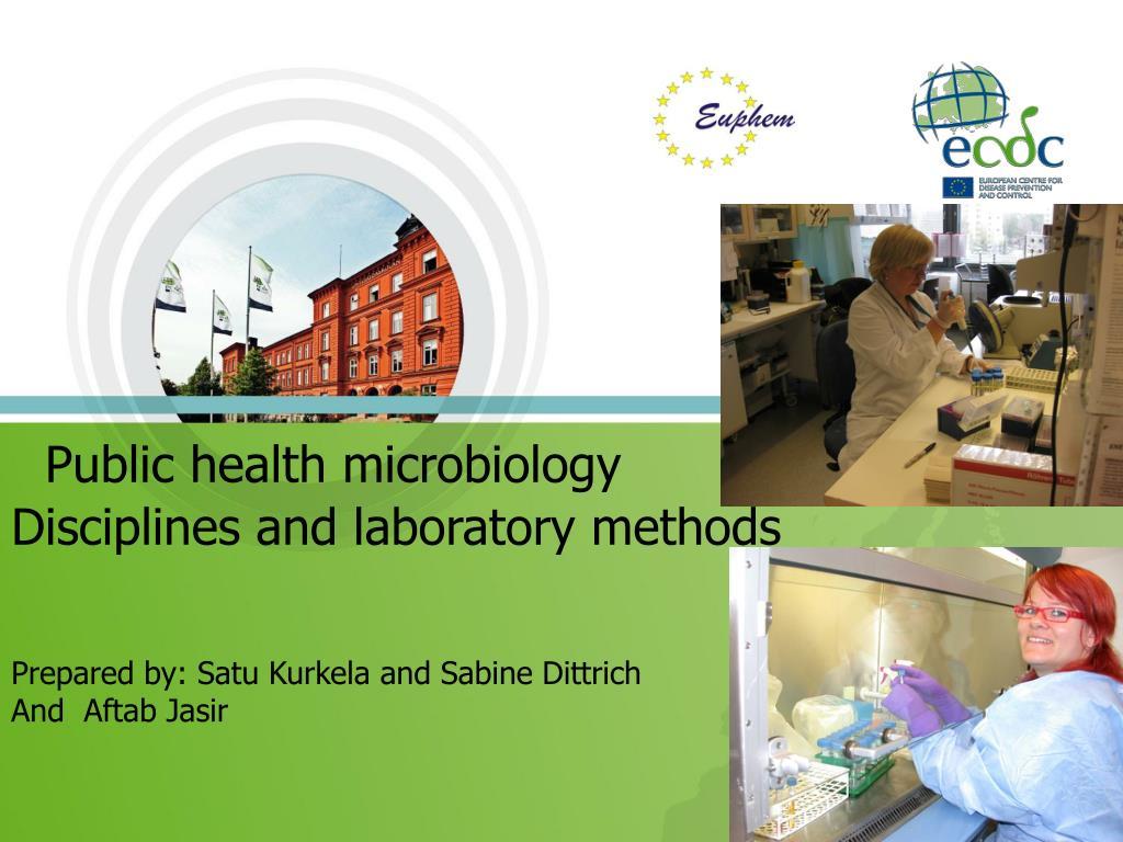 Public health microbiology
