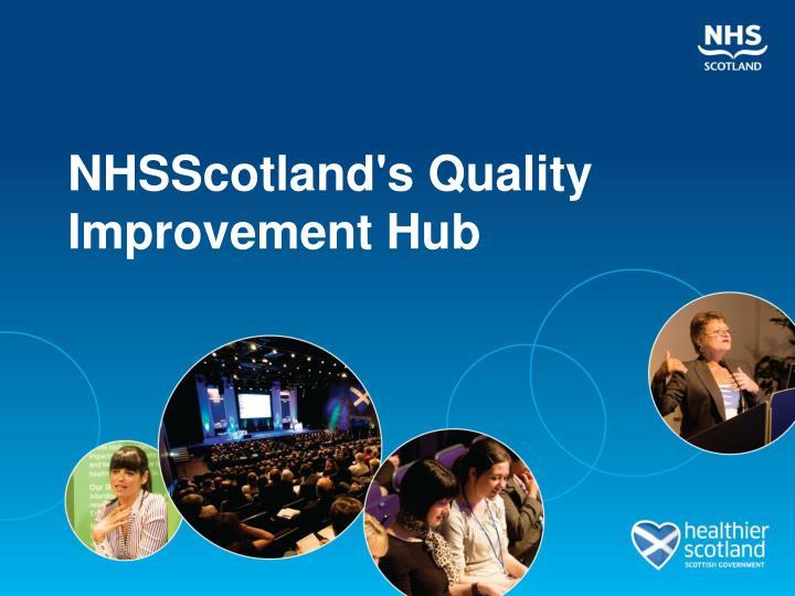 nhsscotland s quality improvement hub n.