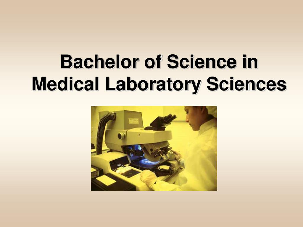 Bachelor of Science in Medical Laboratory Sciences