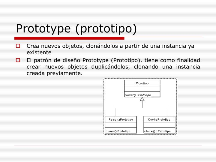 Prototype (prototipo)