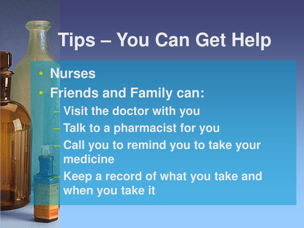 Tips – You Can Get Help