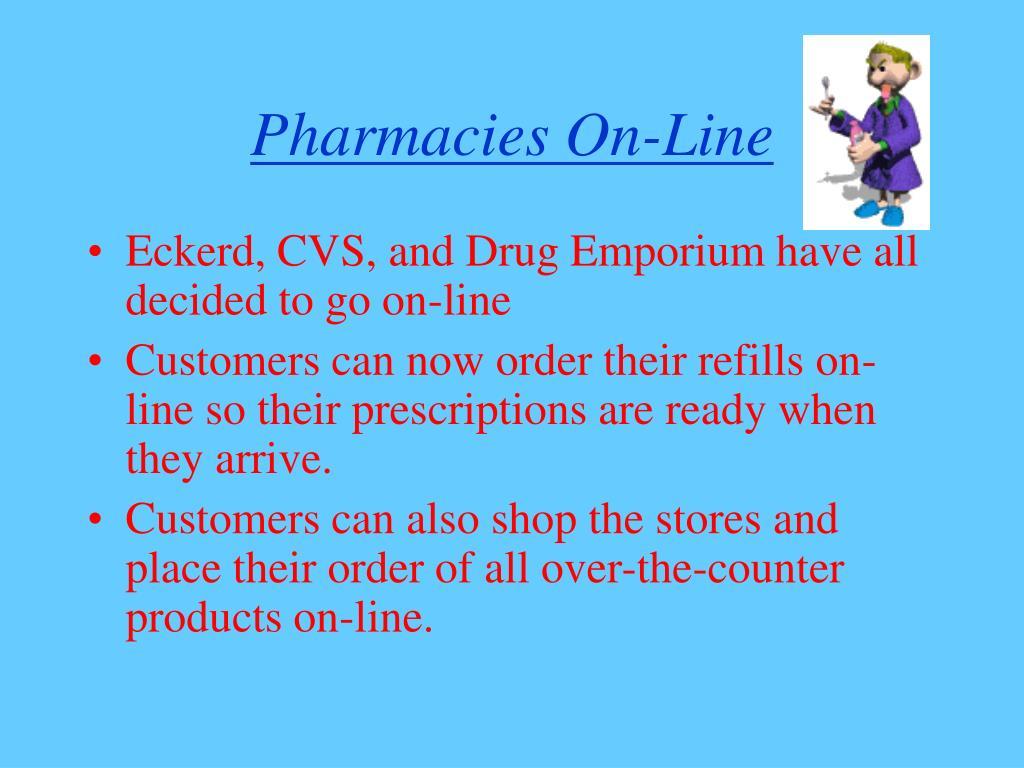 Pharmacies On-Line