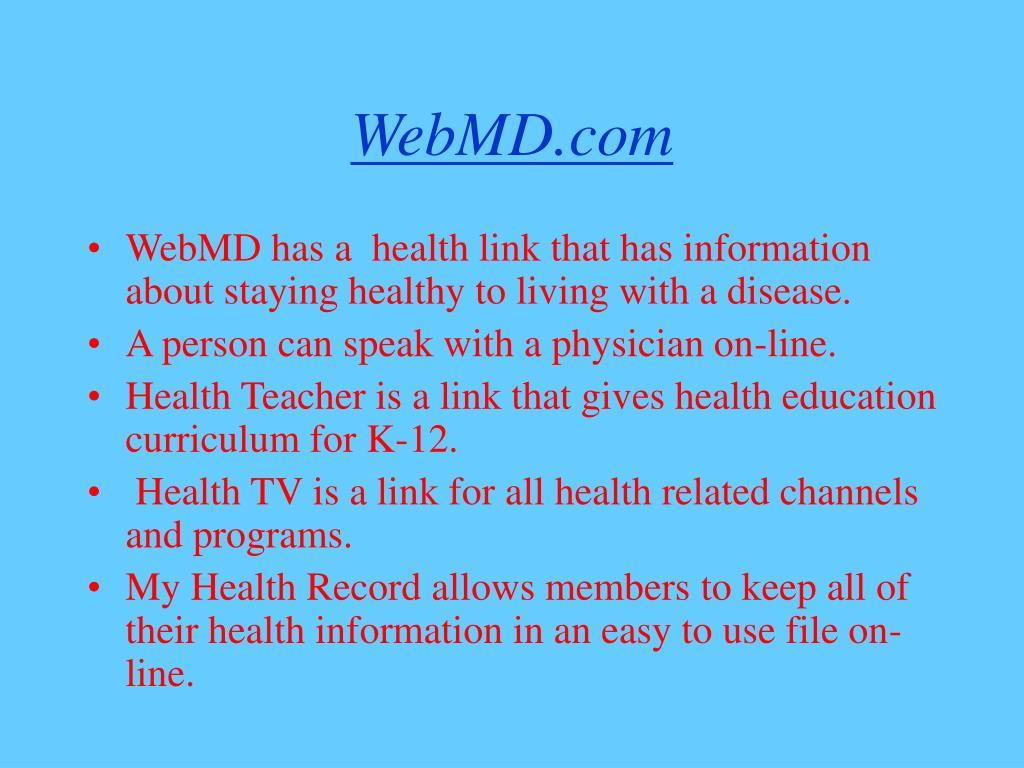 WebMD.com
