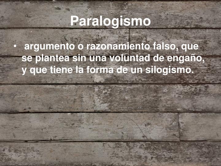 Paralogismo
