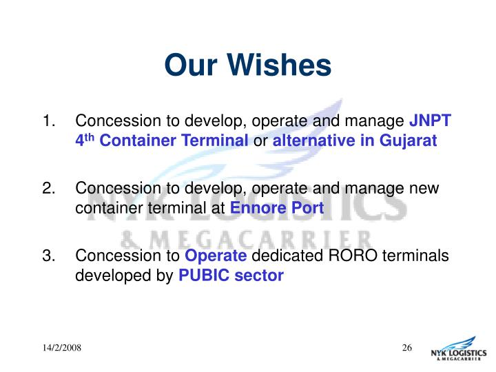Our Wishes