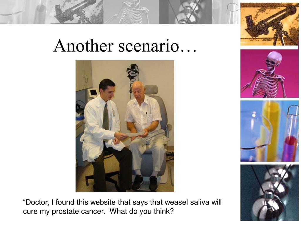 Another scenario…