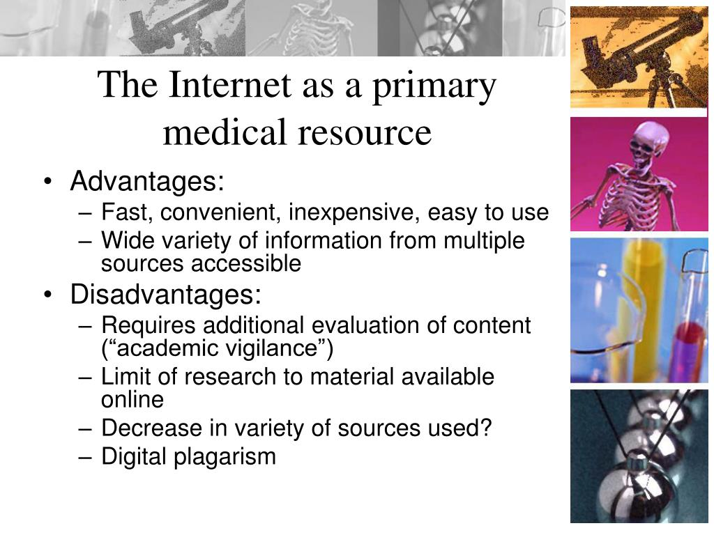 The Internet as a primary medical resource
