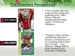 the coaches perspective1
