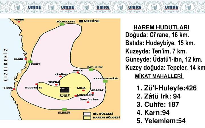 HAREM HUDUTLARI