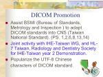 dicom promotion