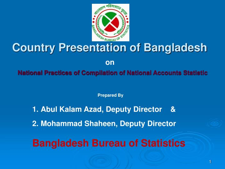 country presentation of bangladesh n.