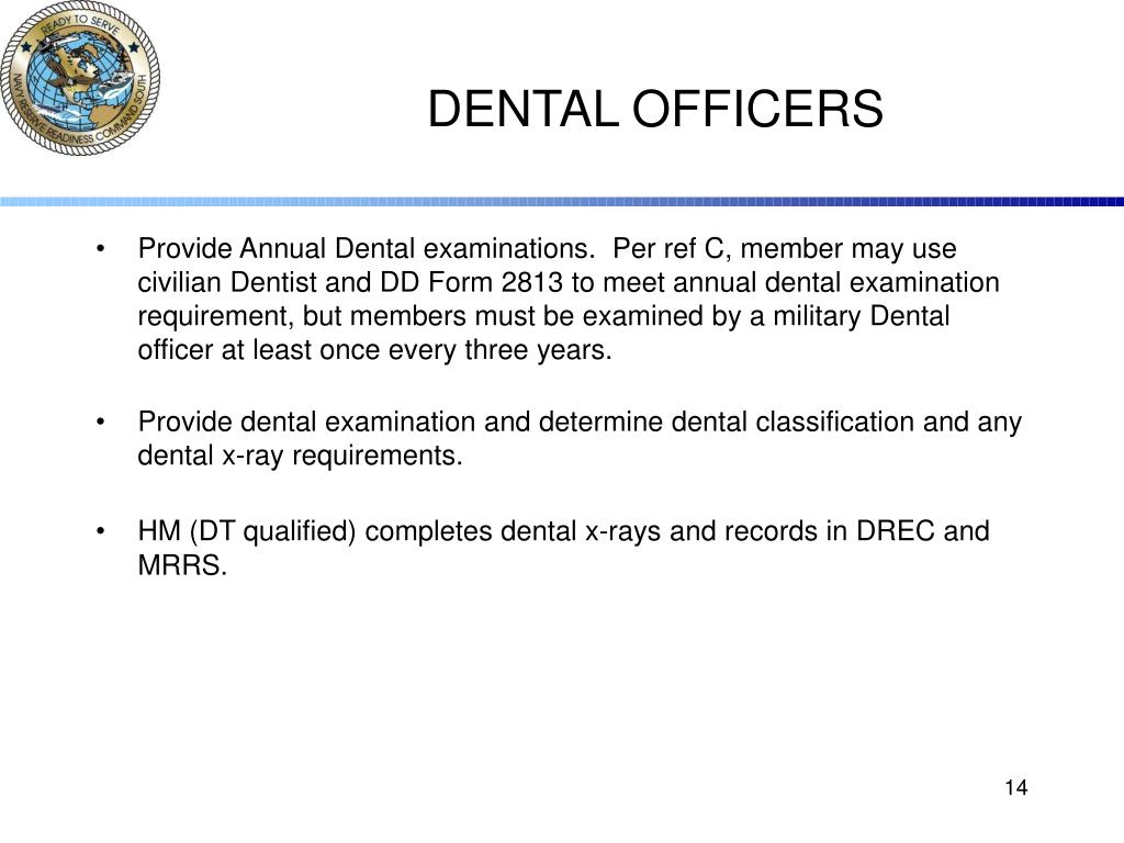 DENTAL OFFICERS