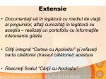 extensie