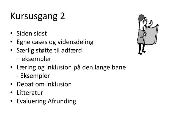 Kursusgang 2
