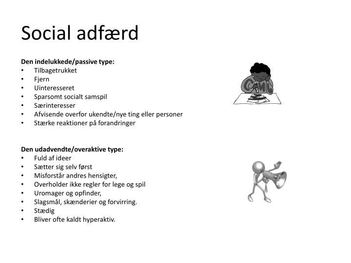 Social adfærd