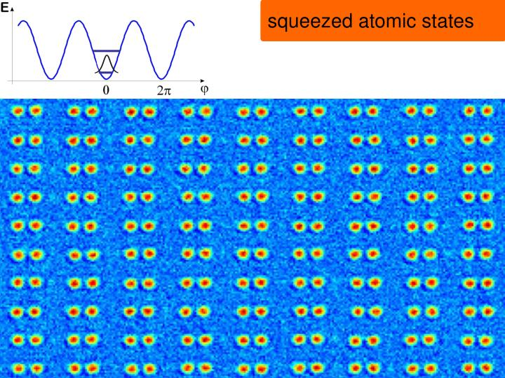 squeezed atomic states