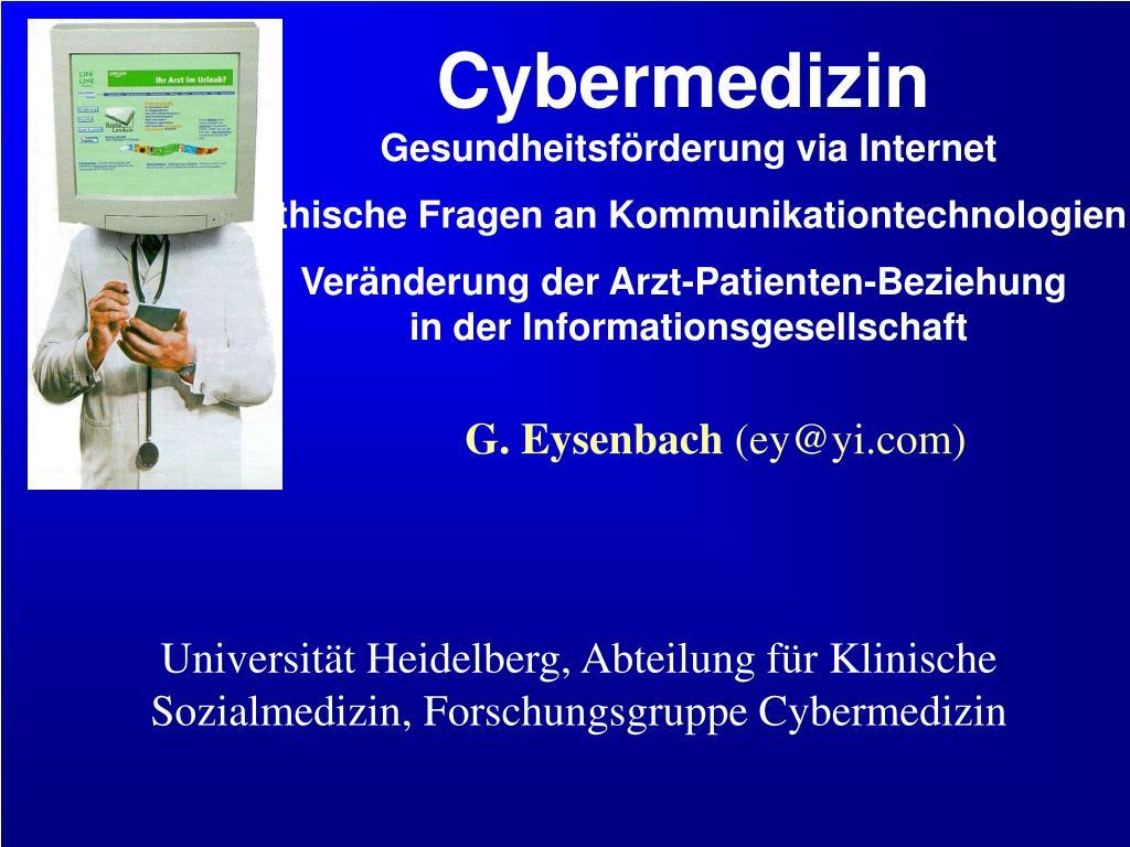 g eysenbach ey@yi com l.