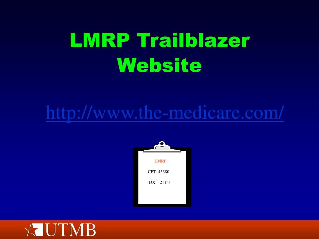 LMRP Trailblazer Website