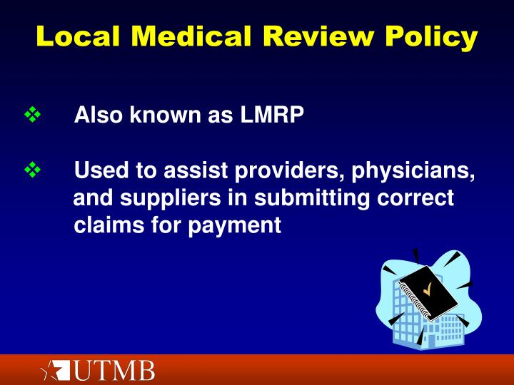 Local medical review policy2