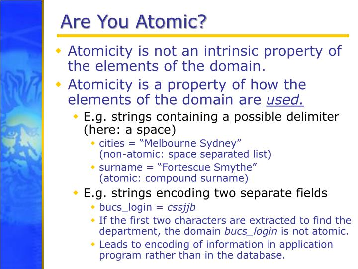 Are You Atomic?